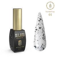 Quail Top Milano 10 Мл Глянцевый № 01