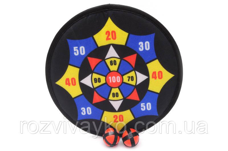 Спортивная игра Дартс с мячиками на липучках, 803