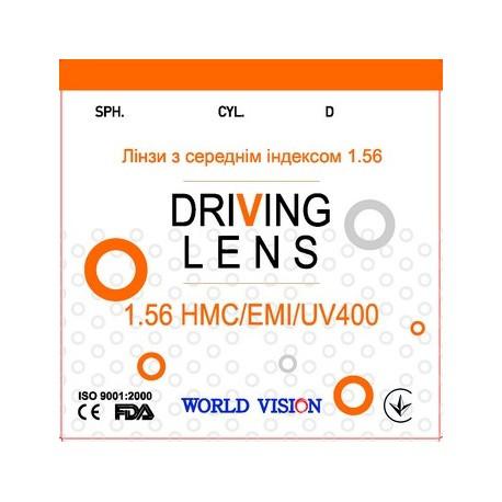 Помаранчева лінза для окулярів для зору КОРЕЯ DIGITAL DRIVING 1,56 Super Hydrophobic+Blue Blocker