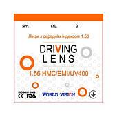 Оранжевая линза для очков для зрения КОРЕЯ DIGITAL DRIVING 1,56 Super Hydrophobic+Blue Blocker
