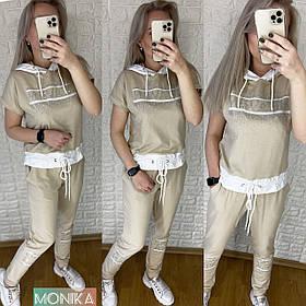 Спортивный костюм летний женский Большого размера