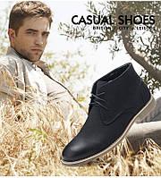 Элегантные мужские кожаные ботинки. Модель 04105., фото 7