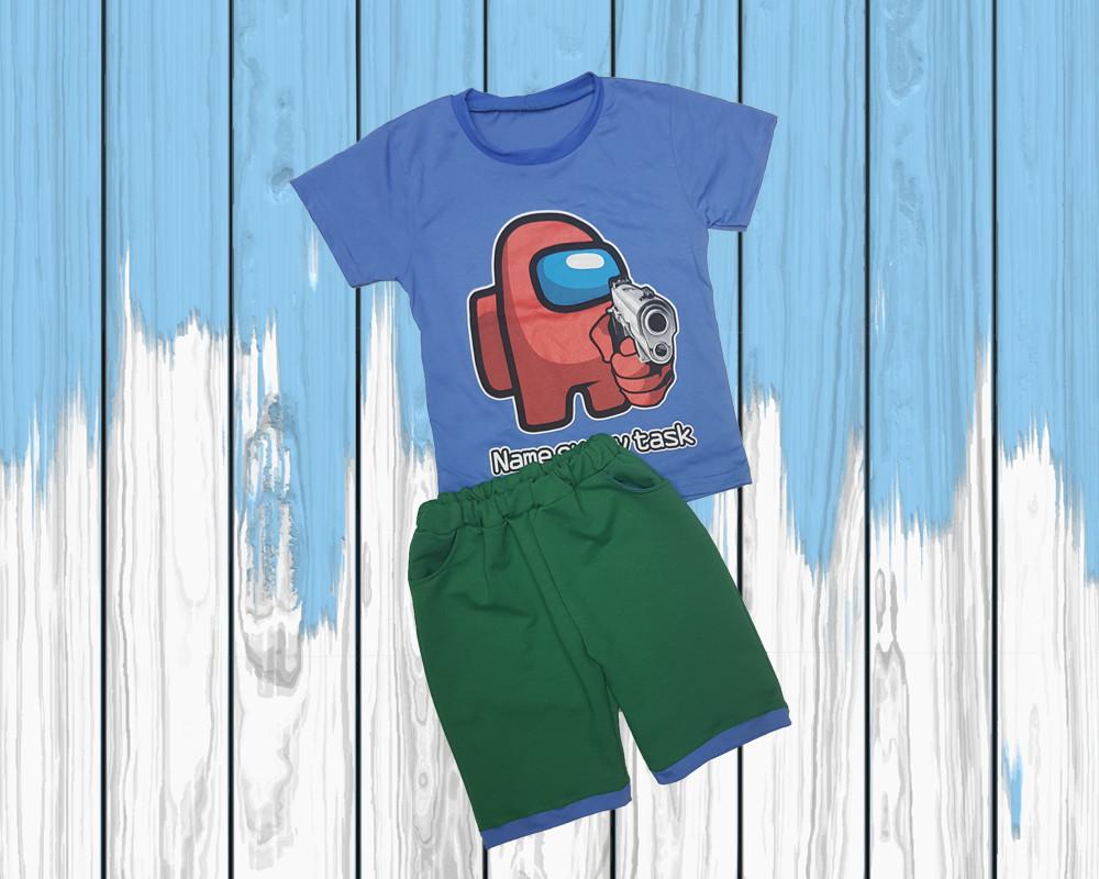Дитяча футболка з шортами