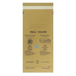 Крафт-пакети Алвін 100х200мм 100шт/уп з індикатором, самоклеющие