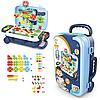Игровой набор чемодан PAZZLE interest assemble toy 137 PCS suitcase