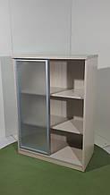 Шкаф тумба комод для документов со стекляными дверцами Italy