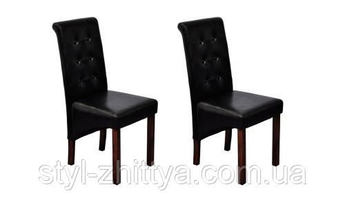 Набір 2 крісла, чорний