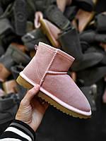 Зимние угги UGG Classic Mini II женские розовые