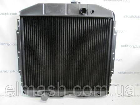Радиатор водяного охлаждения ГАЗ 53 (3-х рядный) (141.1301010-01) (пр-во г.Бишкек)