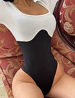 Женское Боди стильный,Ткань - Трикотаж Рубчик Турция + Двухнить Турция(42-46), фото 1