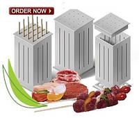 Форма для нарезания мяса на шашлык Brochette Express, приспособление для быстрого нанизывания шашлыка Брочетте, фото 1