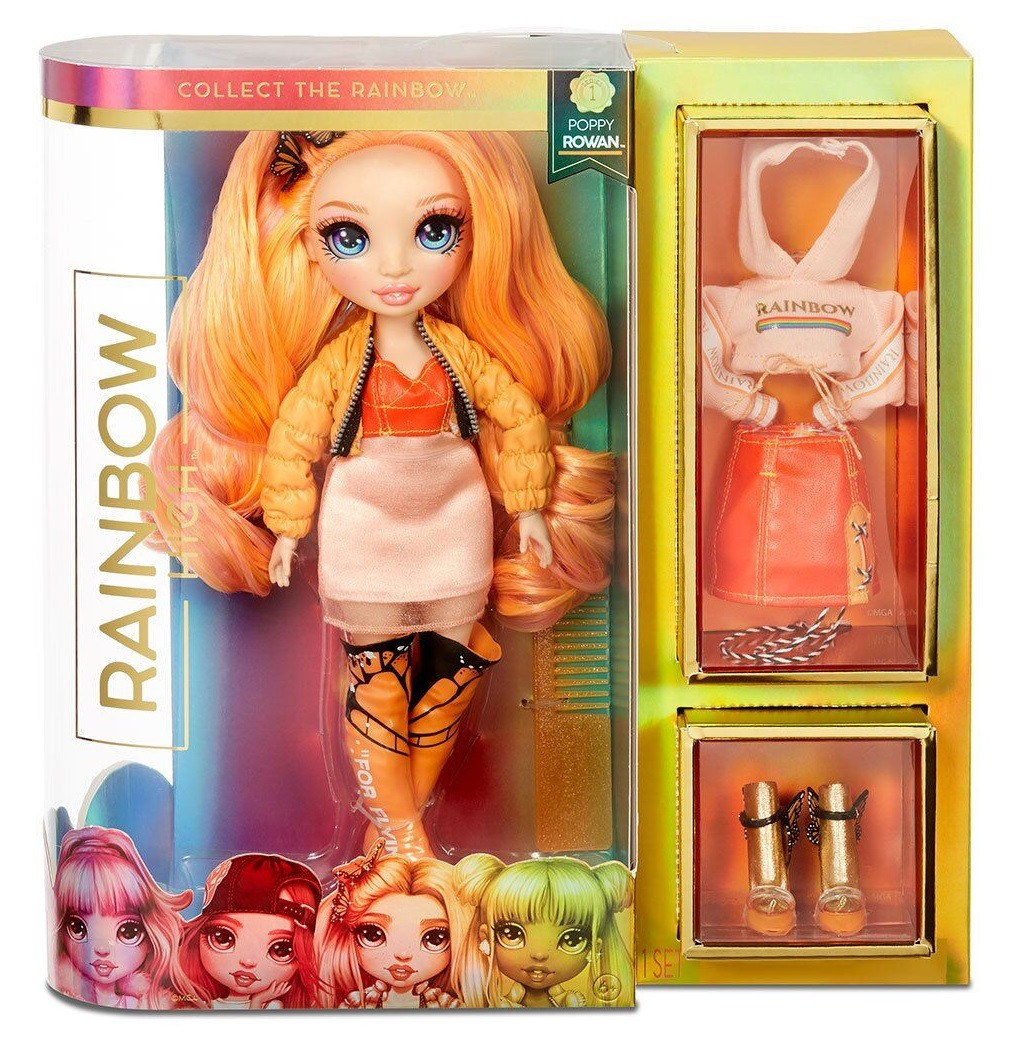 Кукла Рейнбоу Хай Rainbow High – Поппи Роуэн с аксессуарами 569640