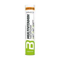 Комплекс витаминов для спортсменов BioTech Multivitamin Effervescent 20 шипучих таблеток Апельсин
