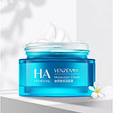 Крем для лица глубоко увлажняющий VENZEN Hyaluronic Acid Moisturizing Cream с гиалуроновой кислотой, 50 г, фото 2
