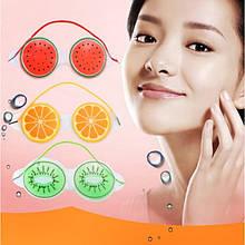 """Гелевая маска на глаза """"Crazy Fruit"""", 3 вида"""