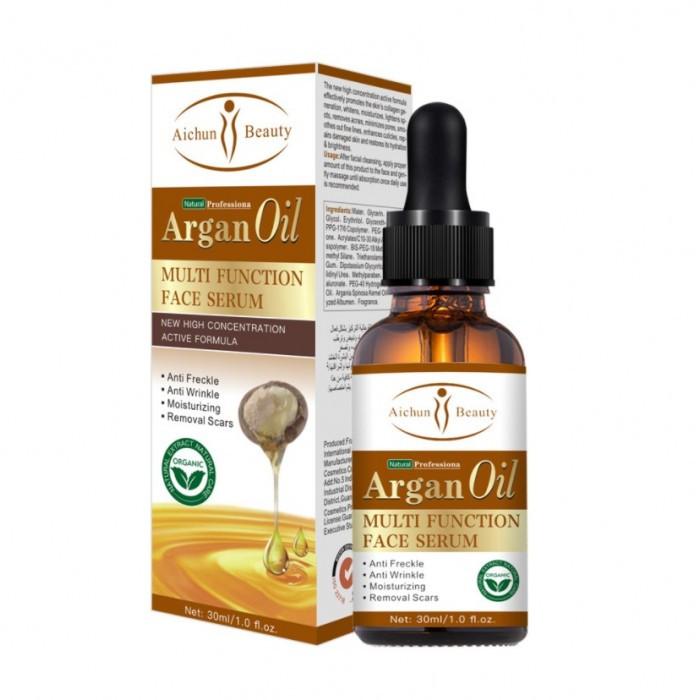 Сироватка багатофункційна з аргановою олією Aichun Beauty Argan Oil Multi Function Face Serum, 30 мл