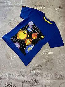 Футболка детская на мальчика оптом (92-128 см) Турция-72863