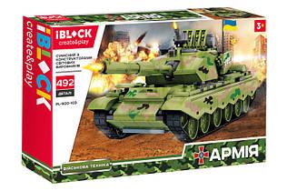 Конструктор танк АРМИЯ военная техника IBLOCK PL-920-103