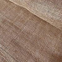 Мешковина джутовая натурального цвета, ширина 100 см, фото 1