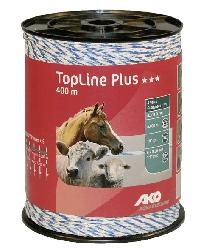 Шнур 6х0,30мм, 400м TopLine plus Polywire