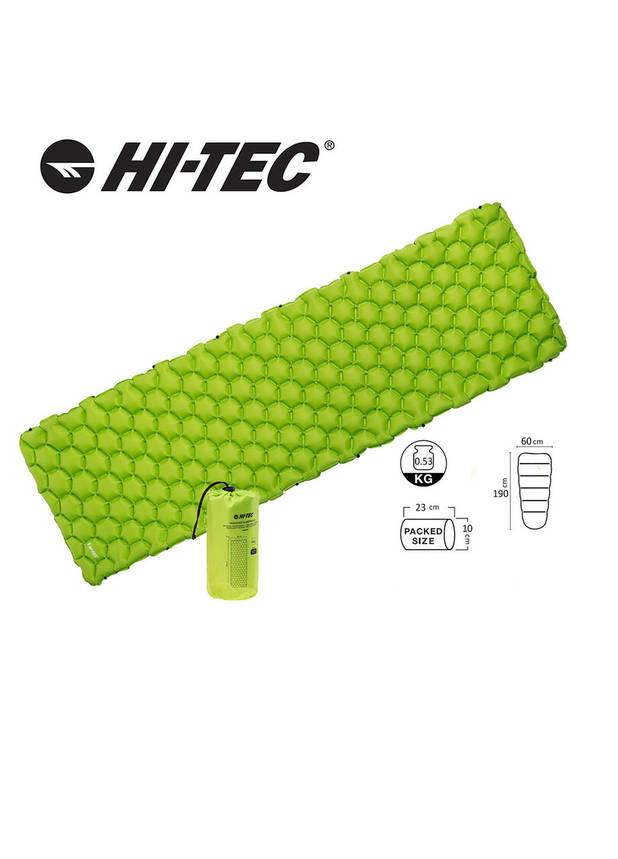 Надувной коврик Hi-Tec AIRMAT 190x60 Зеленый, фото 2