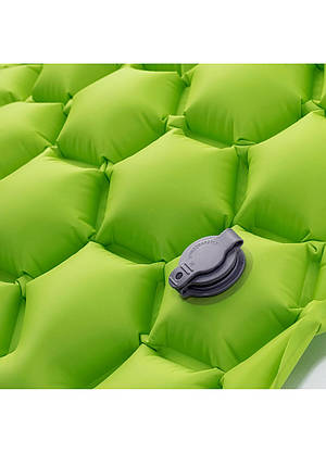 Надувной коврик Hi-Tec AIRMAT 190x60 Зеленый, фото 3