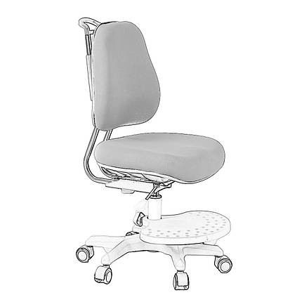 Чехол для кресла Cubby Paeonia Grey, фото 2