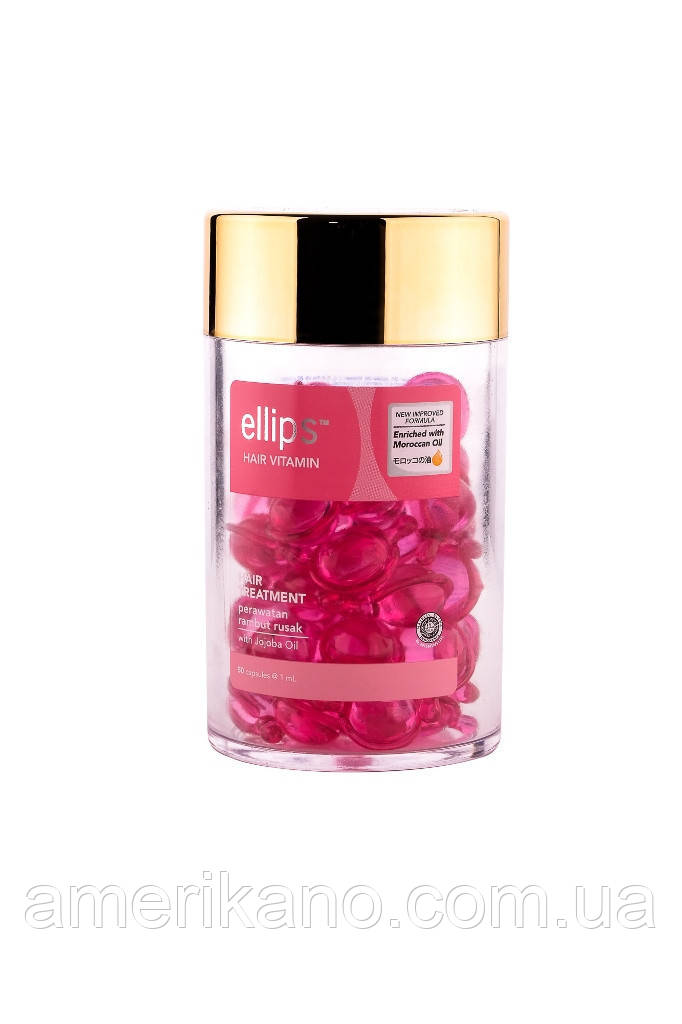 Ellips Вітаміни для волосся «Терапія для волосся з маслом Жожоба 50 шт*1ml
