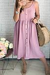 Женское платье летнее красивое длины Миди  (Норма,Батал), фото 6