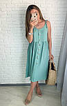 Женское платье летнее красивое длины Миди  (Норма,Батал), фото 7