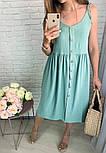 Женское платье летнее красивое длины Миди  (Норма,Батал), фото 8