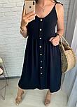 Женское платье летнее красивое длины Миди  (Норма,Батал), фото 2