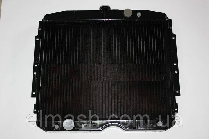 Радиатор водяного охлаждения ГАЗ 53 (3-х рядный) (медный) (пр-во ДК)