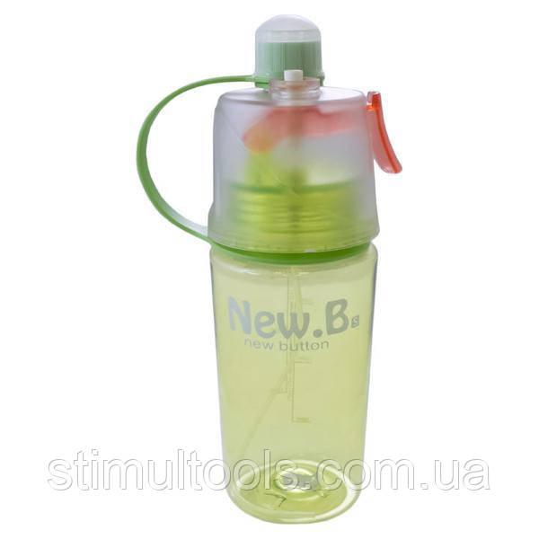 Спортивна пляшка 400 мл з розпилювачем