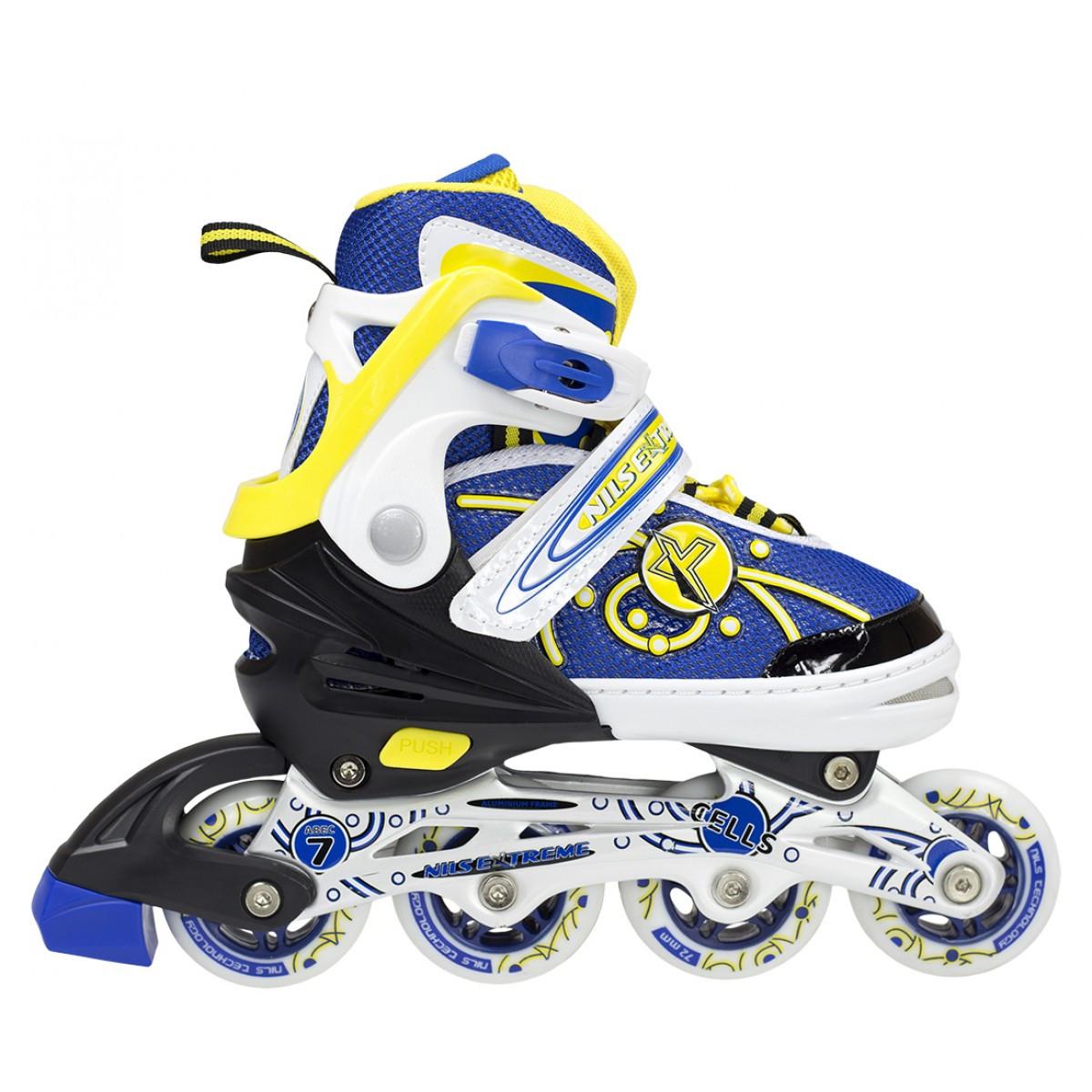 Роликовые коньки Nils Extreme NA1152A Size 35-38 Yellow