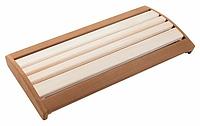 Подспинник для бани и сауны / липа с термо вставкой 600 мм для бани и сауны