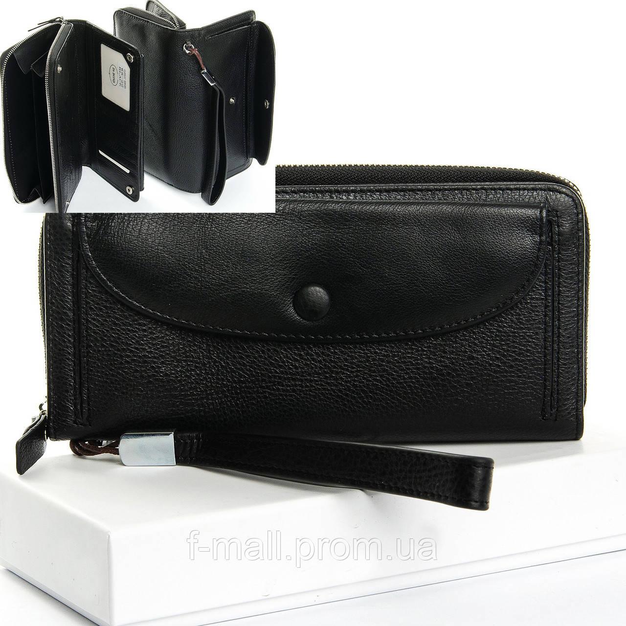 Кошелёк клатч женский кожаный портмоне большой Dr.Bond (07-113)