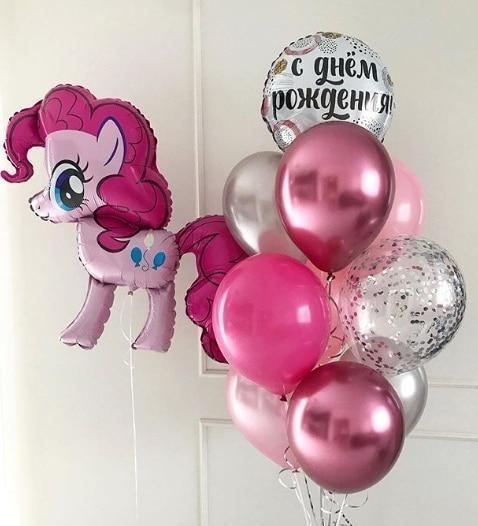 Повітряні кульки Пінкі Пай