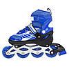 Роликовые коньки Nils Extreme NJ1828A Size 31-34 Blue, фото 9