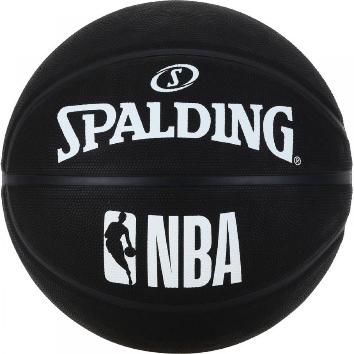 М'яч баскетбольний Spalding NBA Black Size 7