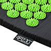 Килимок акупунктурний з валиком 4FIZJO Аплікатор Кузнєцова 128 x 48 см 4FJ0048 Black/Green, фото 3