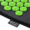 Коврик акупунктурный с валиком 4FIZJO Аппликатор Кузнецова 128 x 48 см 4FJ0048 Black/Green, фото 3