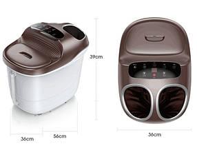 Массажер для ног с подогревом воды , гидромассажная ванна ,  ванночка для педикюра Benbo ZY-9058