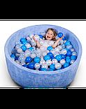 Сухой бассейн с шариками! Синий, фото 2