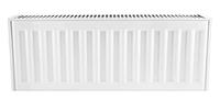 Радиатор стальной панельный батарея отопления 22х300х1200.S KOER с боковым подключением чешский 4,32л