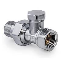Вентиль радиаторный (хромированный) 1/2x1/2 (KOER KR.904.CHR) (KR2824)