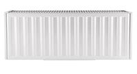 Стальной радиатор отопления панельная батарея 22х500х1300.S KOER с боковым подключением чешский 7,02л