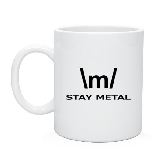 Кружка STAY METAL