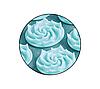 Килимок акупунктурний з подушкою 4FIZJO Eco Mat Аплікатор Кузнєцова 68 x 42 см 4FJ0180 Turquoise, фото 3