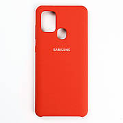 Чехол Silicone Case для Samsung Galaxy A21S Red